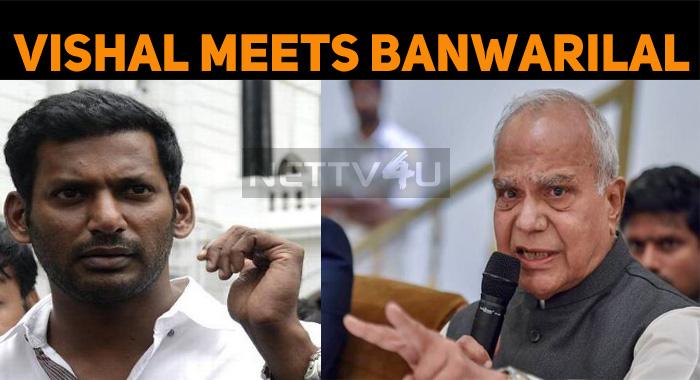 Vishal Meets Banwarilal Purohit!