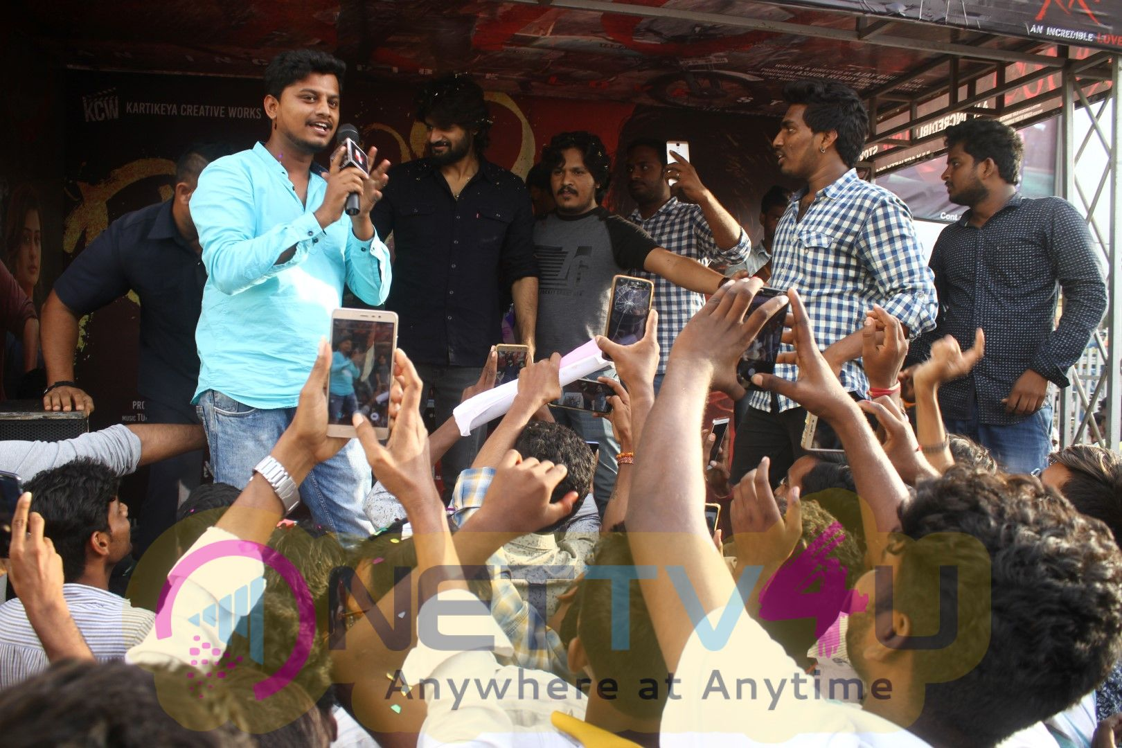 RX100 Success Tour At  Guntur Swamy Theater Best Images