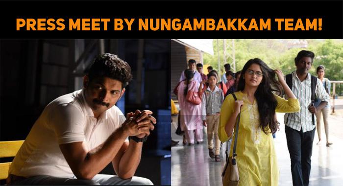 Emergency Press Meet By Nungambakkam Team!