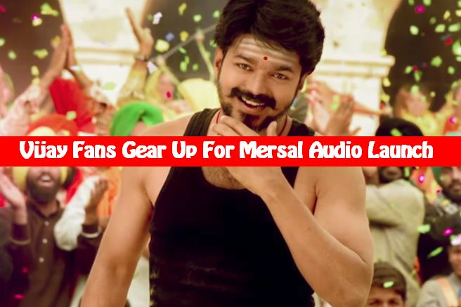 Vijay To Answer His Fans At The Audio Launch!
