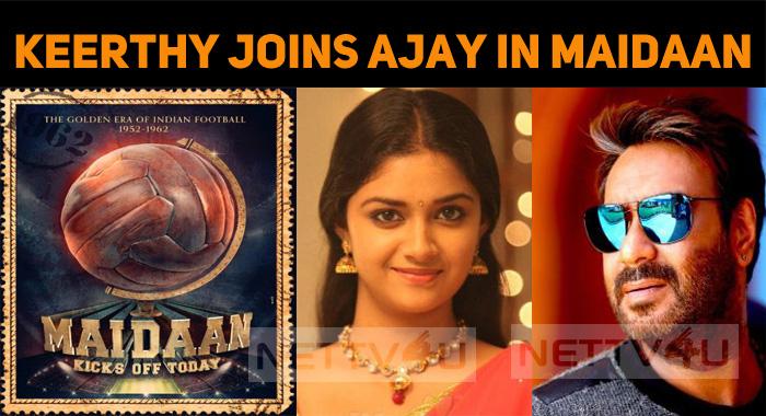 Keerthy Suresh's Debut Hindi Film Is Maidaan!