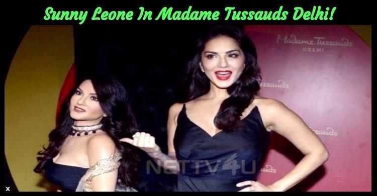 Sunny Leone In Madame Tussauds Delhi!