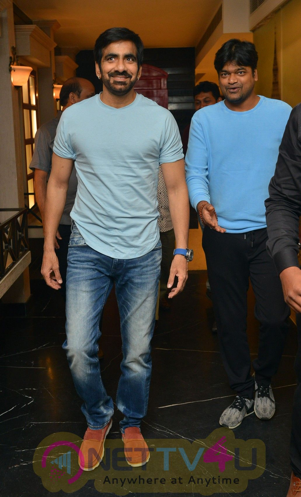 Raja The Great Movie Success Celebrations Stills