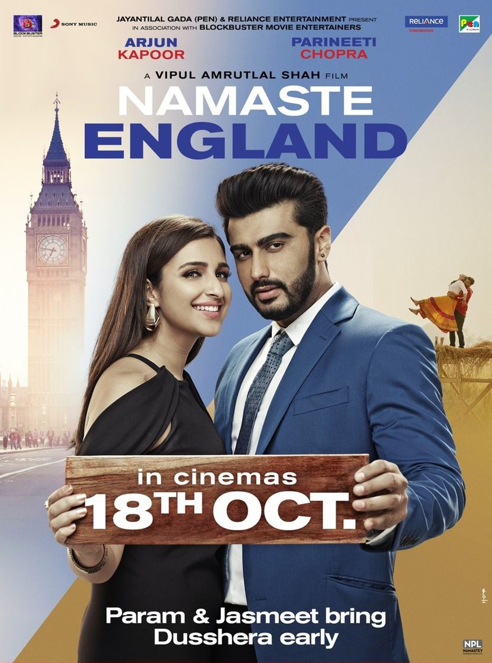 Namaste England Movie Review