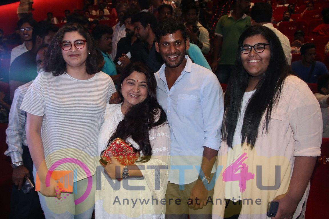 Sandakozhi 2 Movie Celebrity Show Images Tamil Gallery