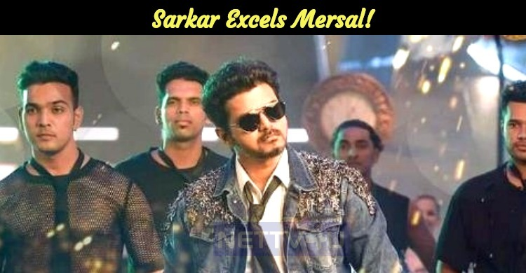 Sarkar Excels Mersal!