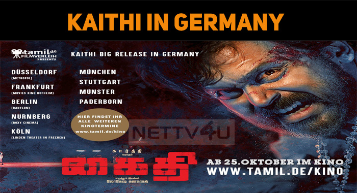 Kaithi To Hit The Screens In Germany!