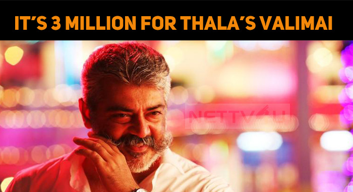 Yet Another Record From Thala Fans! 3 Million T..