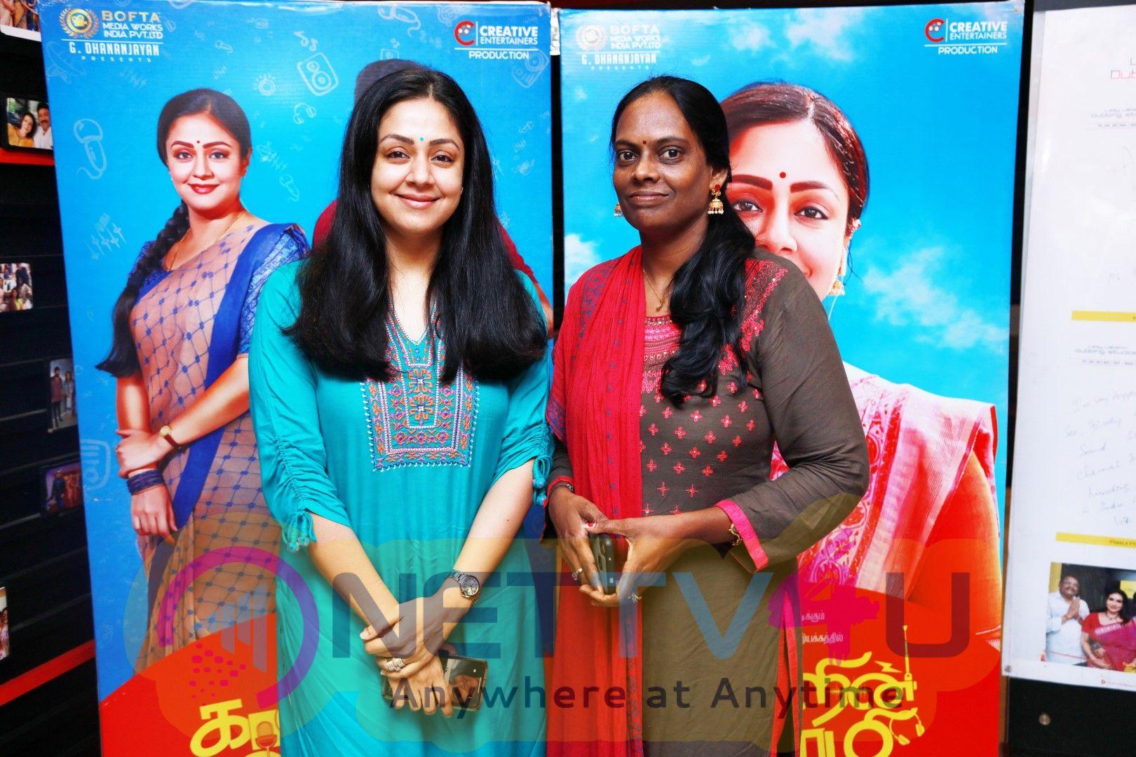 Kaatrin Mozhi Movie Press Show Stills