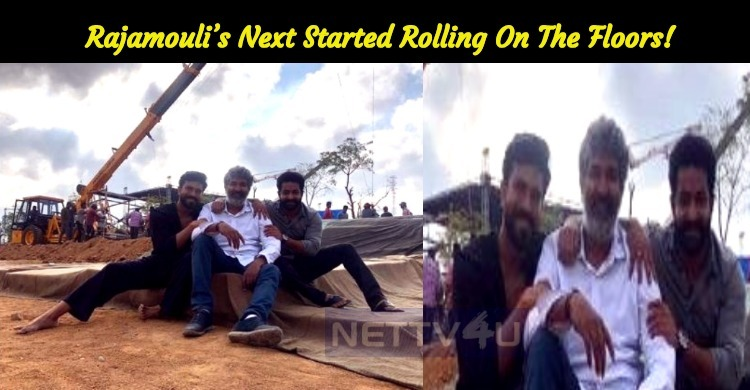 Rajamouli's Next Started Rolling On The Floors!