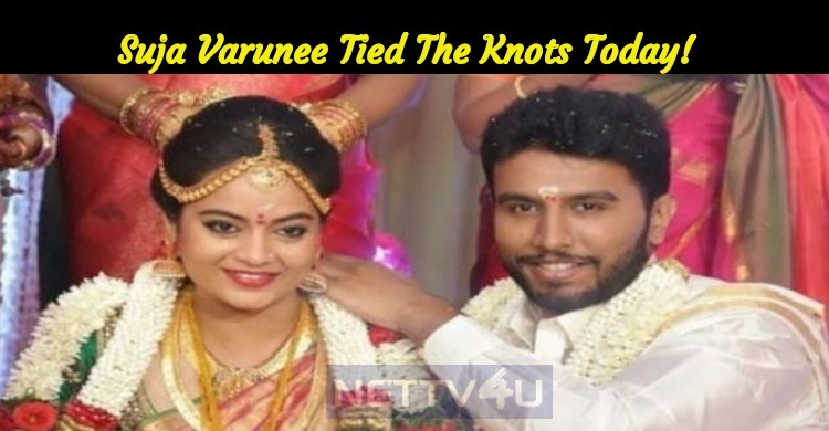 Suja Varunee Ties The Knot Today!
