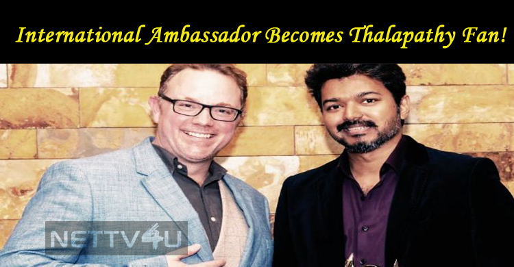 International Ambassador Becomes Thalapathy Fan!