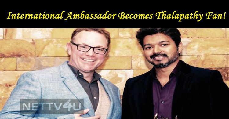 International Ambassador Becomes Thalapathy Fan!