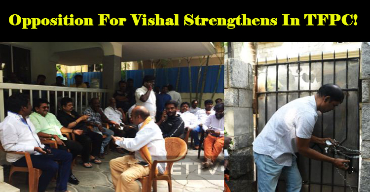 Opposition For Vishal Strengthens In TFPC!