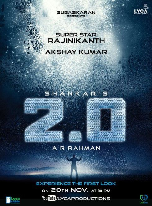 2.0 First Look Of Akshay Is Out!