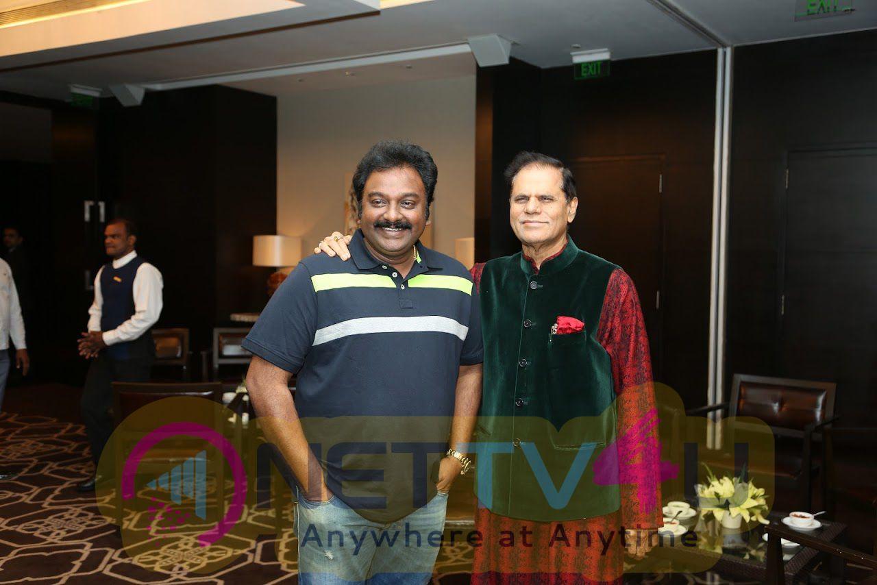T Subbirami Reddy Felicitated Megastar Chiranjeevi Images