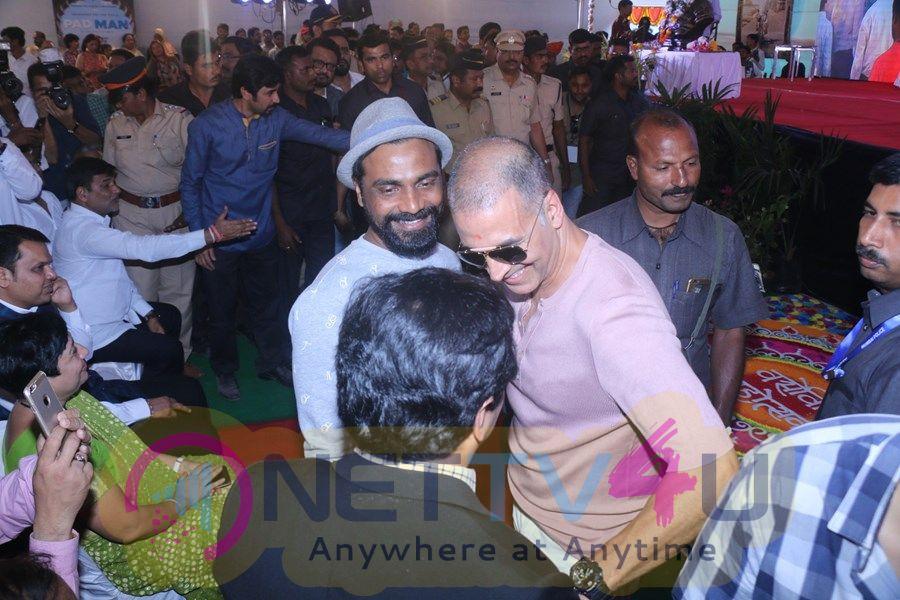 Akshay Kumar At Versova Festival 2018 Images