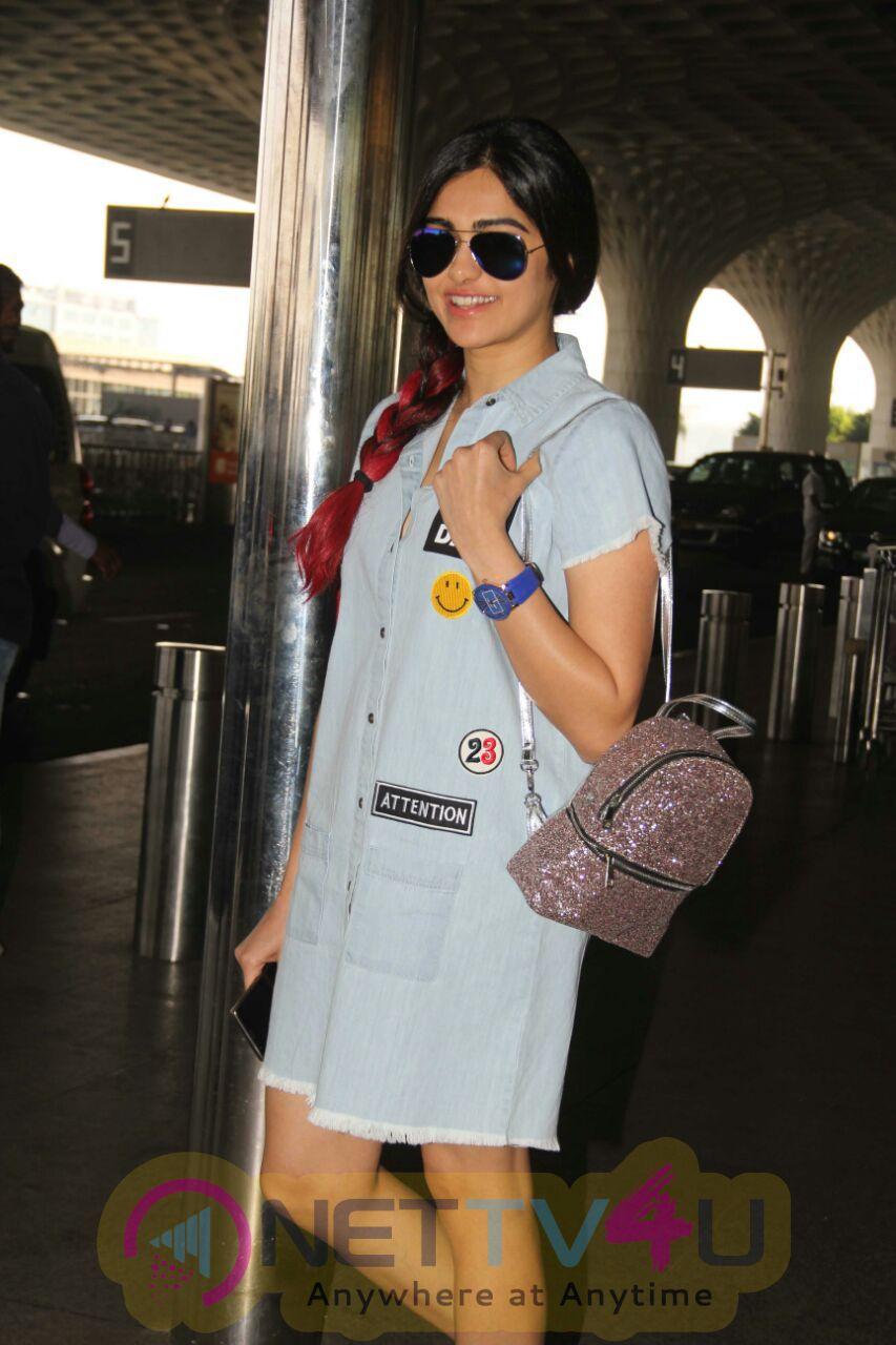 Adah Sharma Marvelour Stills In Airport