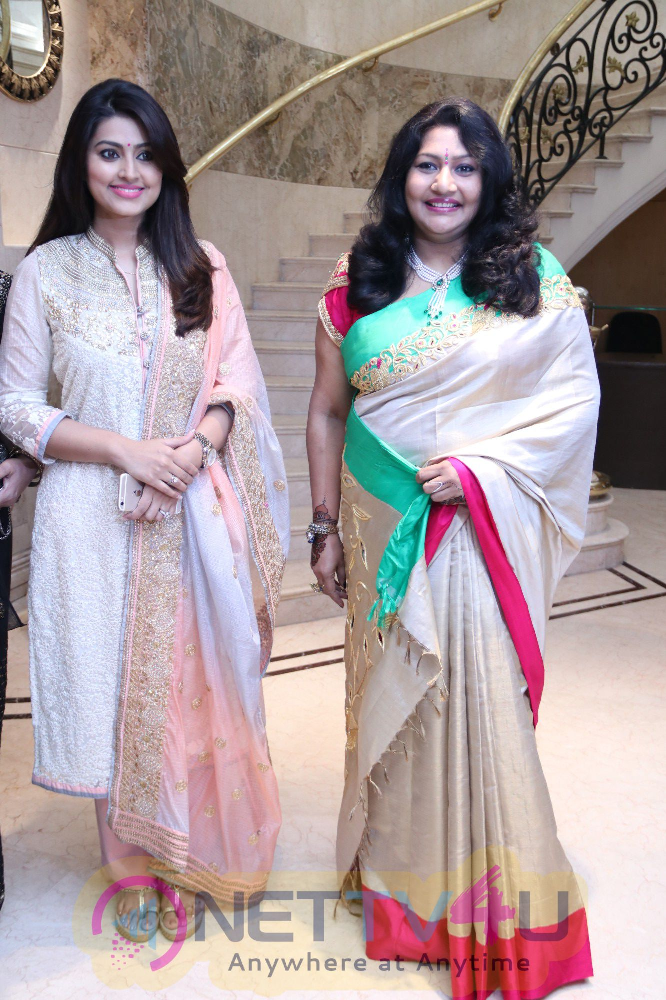 Charming Photos Of Actress Sneha In Vcare's Global Institute Of Health Sciences