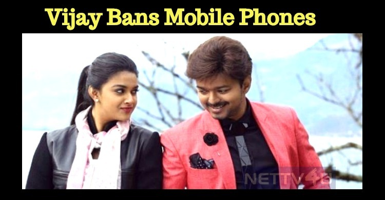 Vijay Bans Mobile Phones In Vijay 62 Sets! Tamil News