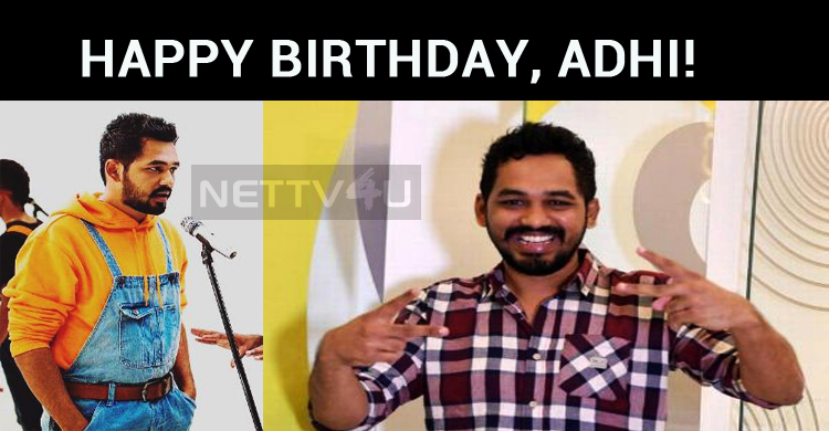 Hiphop Tamizha Adhi Celebrates His Birthday!