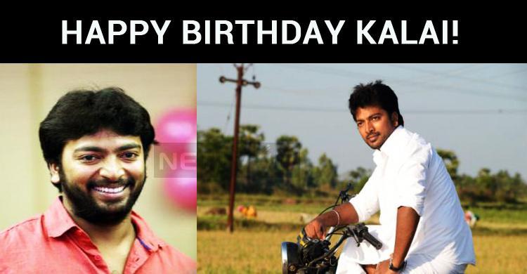 Kalaiyarasan Celebrates His Birthday, Today!
