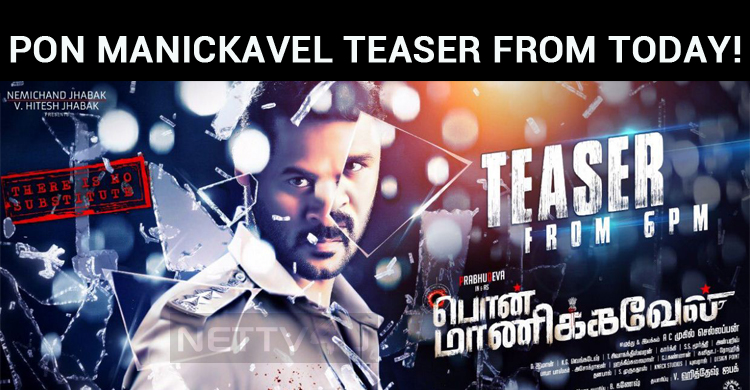 Prabhu Deva's Cop Thriller Pon Manickavel Teaser From Today!