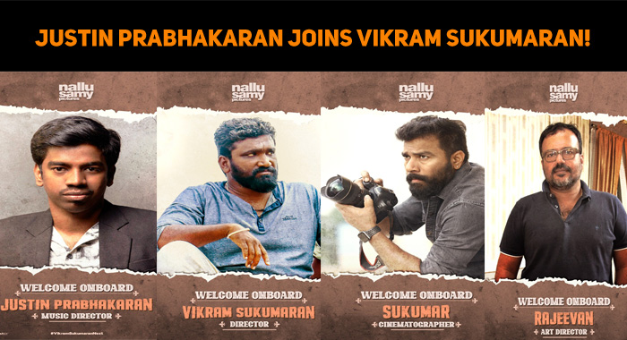 Justin Prabhakaran Joins Vikram Sukumaran!
