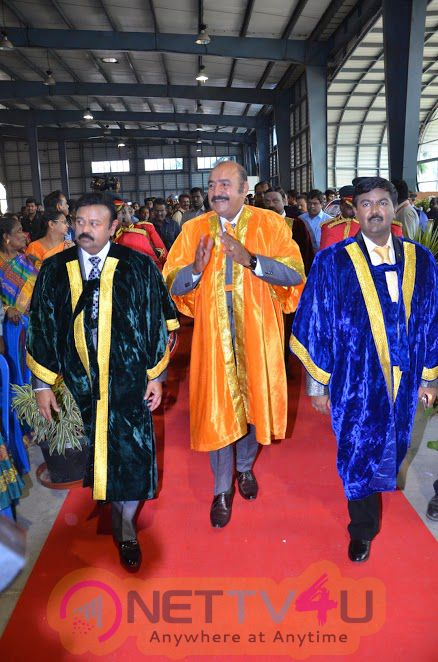 Photos Of Doctorate To Film Star Actor Vijayakumar & Director Vikraman By MGR Research & Educational University