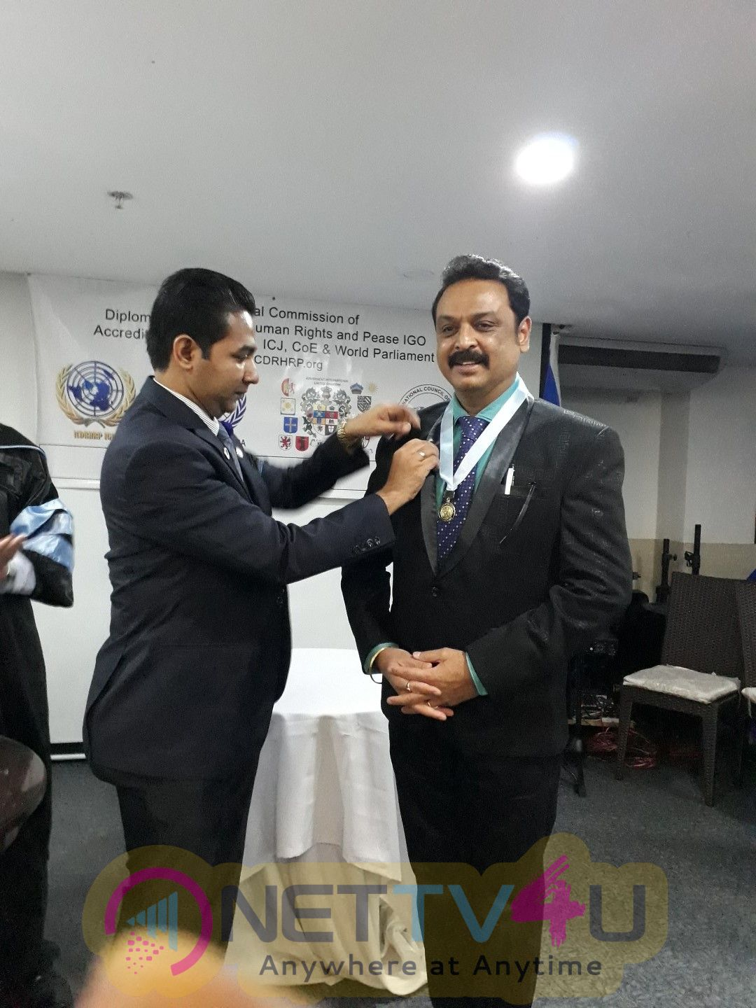 Naresh Got His Excellency Award Form United Nations