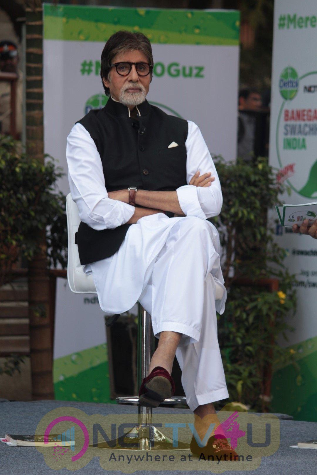 Amitabh Bachchan At Dettol Banega Swachh India Season 4 Campaign Hindi Gallery