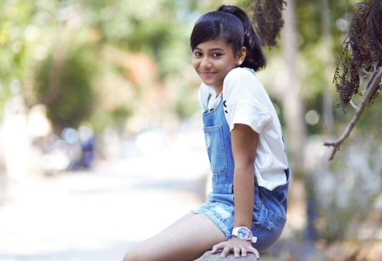 Nisabdham Fame Baby Sathanya Gears Up For Her Next!