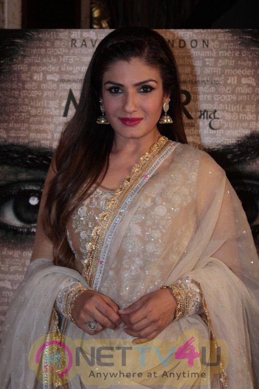 Press Conference For Film Maatr With Raveena Tandon