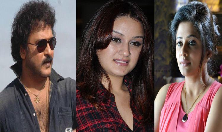 Priyamani And Sonia Agarwal Joins Ravichandran!..