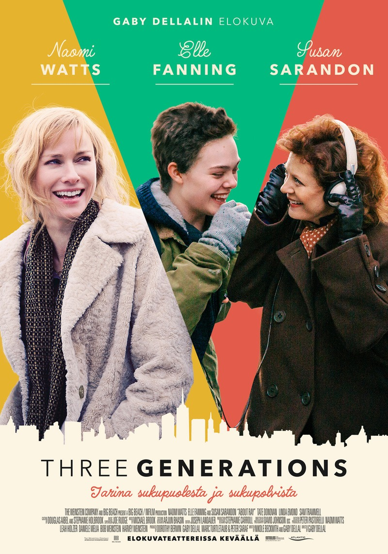 Three Generations Movie Review English Movie Review