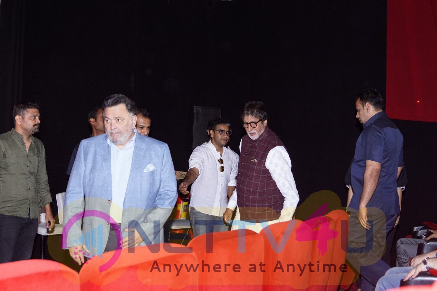 102 Not Out Movie Audio Launch With Rishi Kapoor and Amitabh Bachchan