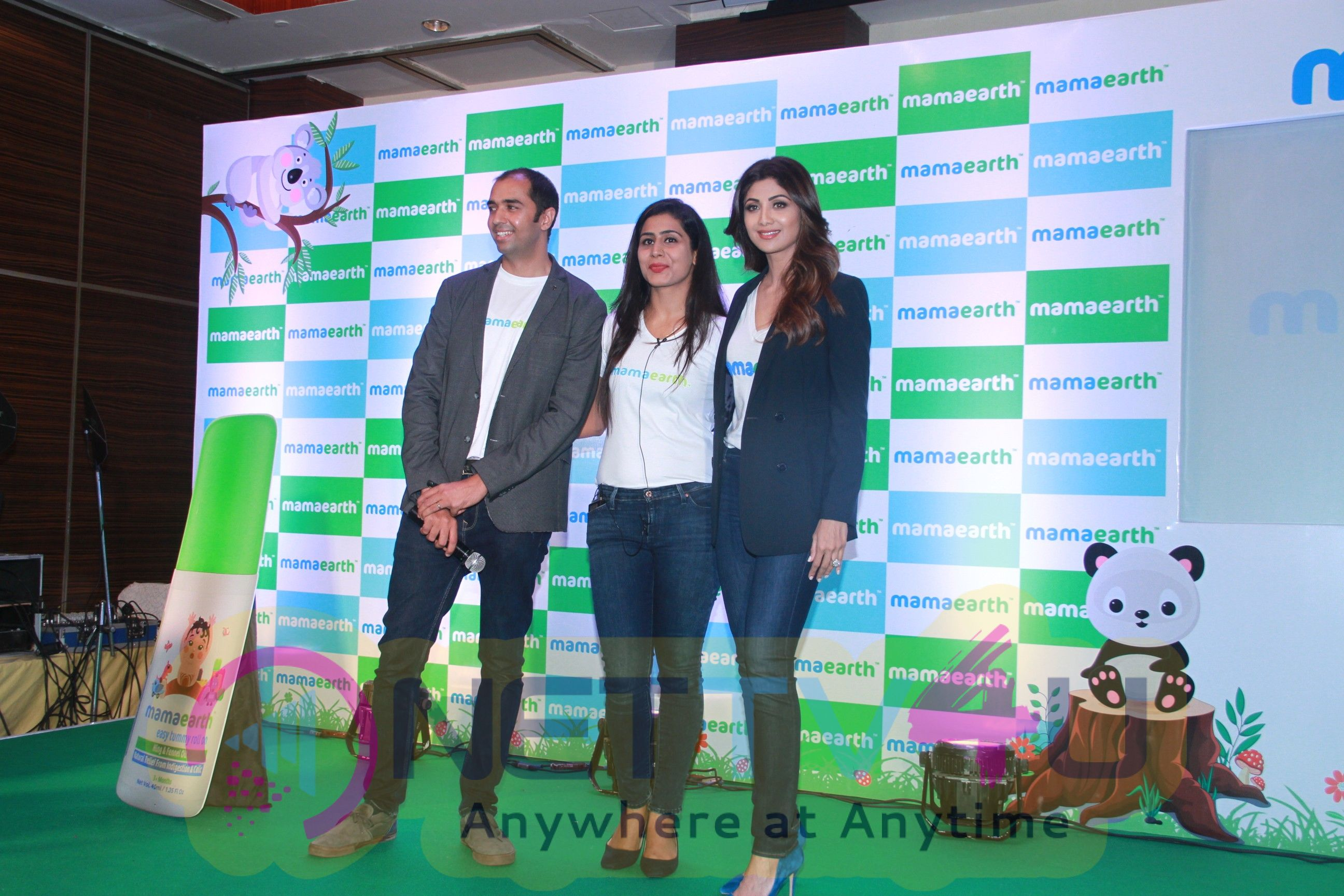 Shilpa Shetty Kundra Invest In MamaEarth Event Stills  Hindi Gallery