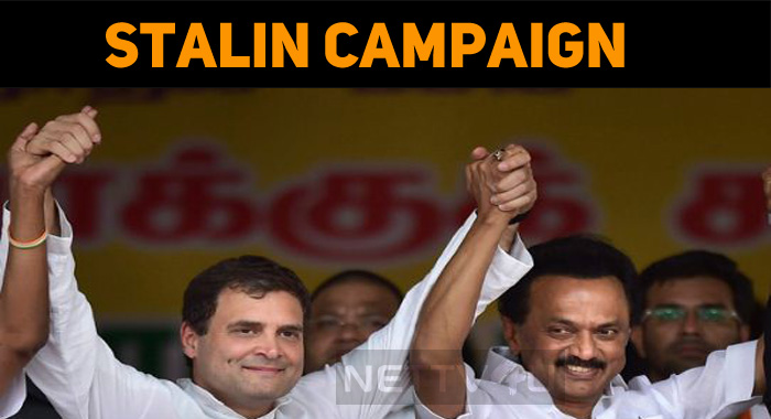 Stalin To Campaign For Assembly By-polls!