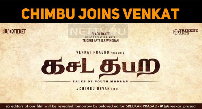Chimbu Devan Joins Venkat Prabhu!