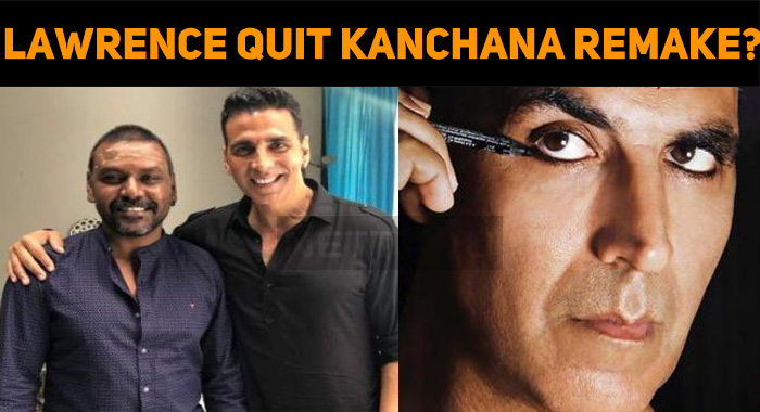 Why Did Raghava Lawrence Quit Kanchana Remake?