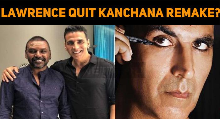 Why Did Raghava Lawrence Quit Kanchana Remake?