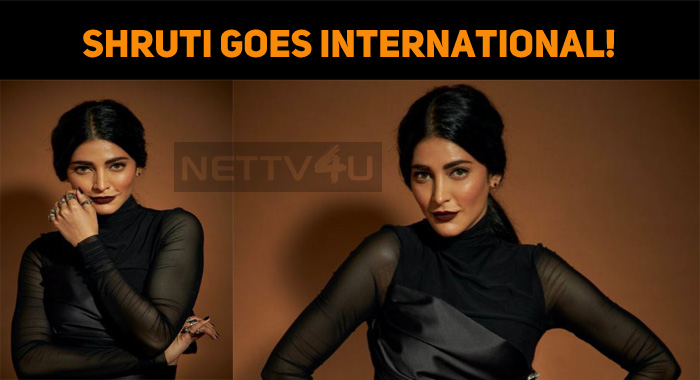 Shruti Goes International!
