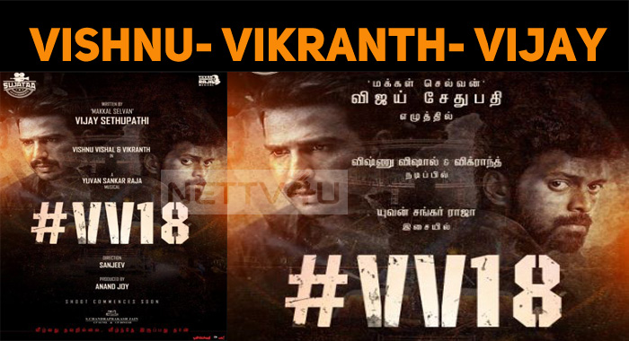 Vishnu Vishal And Vikranth Join Vijay Sethupath..