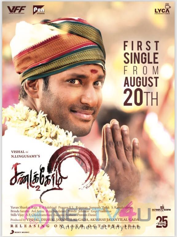 Sandakozhi 2 Movie Posters