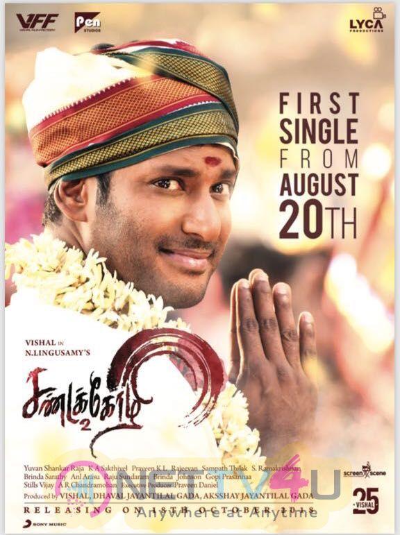 Sandakozhi 2 Movie Posters