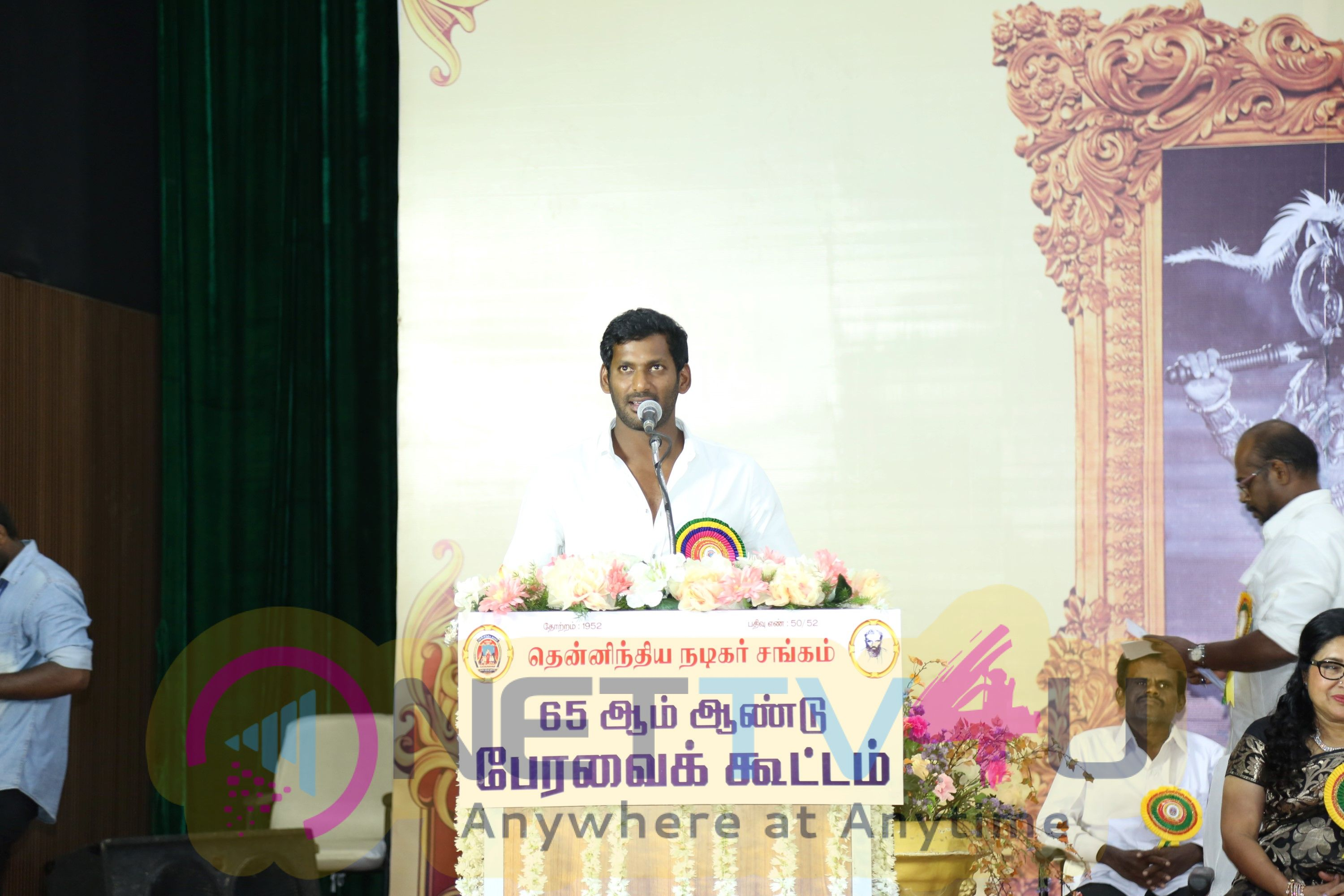 South Indian Nadigar Sangam 65th Committee Meeting Images Tamil Gallery