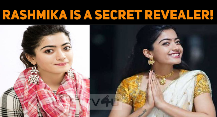 Rashmika Is A Secret Revealer!