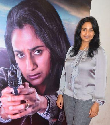 Anu Hasan's First Action Dhamaka!