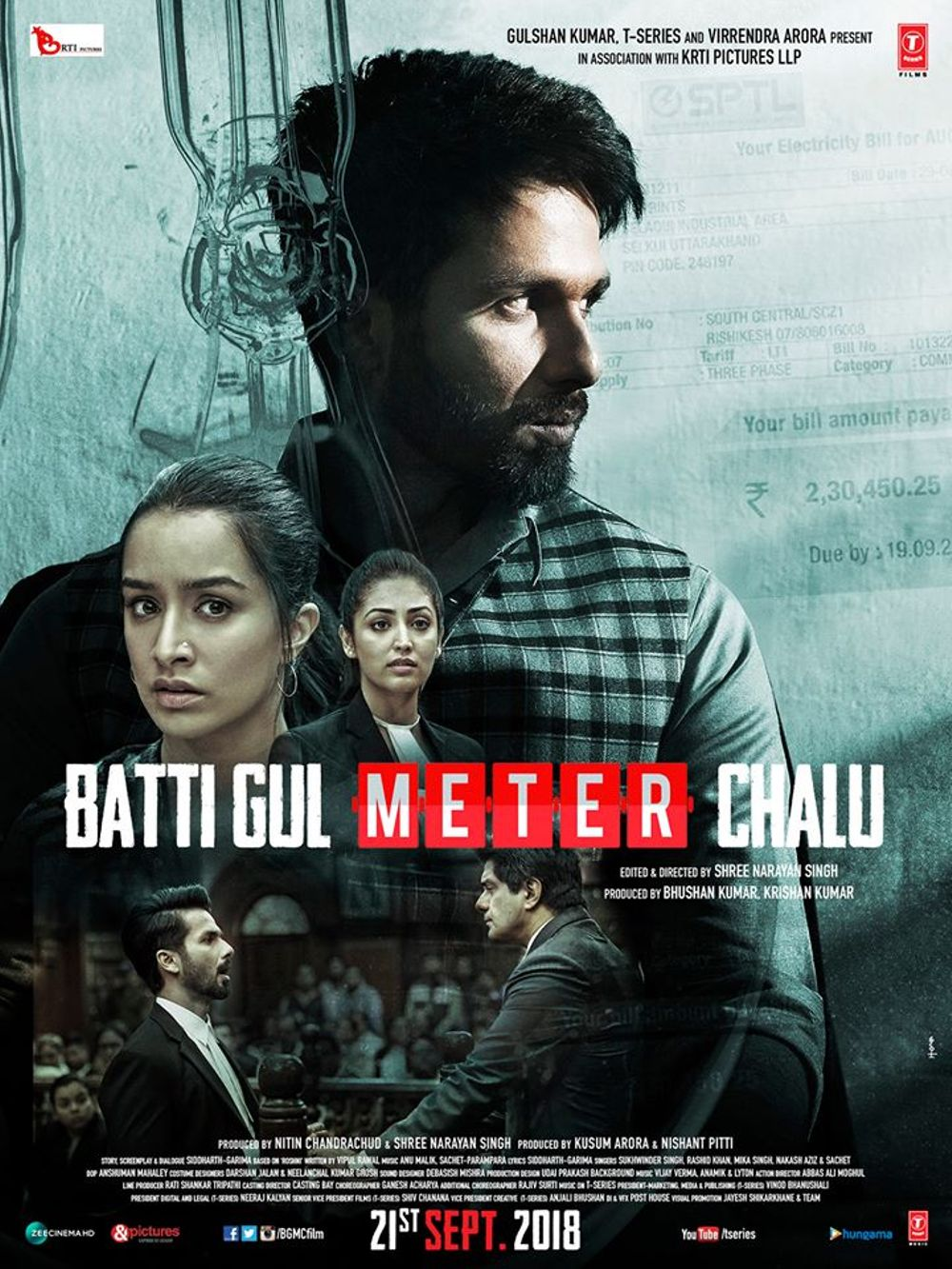 Batti Gul Meter Chalu Movie Review English Movie Review