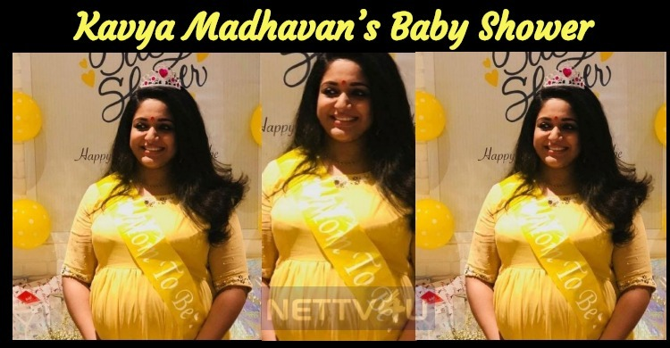 Kavya Madhavan's Baby Shower Photos Had Gone Vi..
